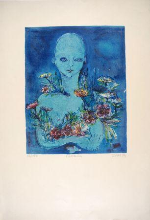 Lithographie Zanetti - Floraison