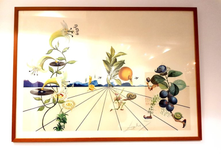 Lithographie Dali - Flordali I