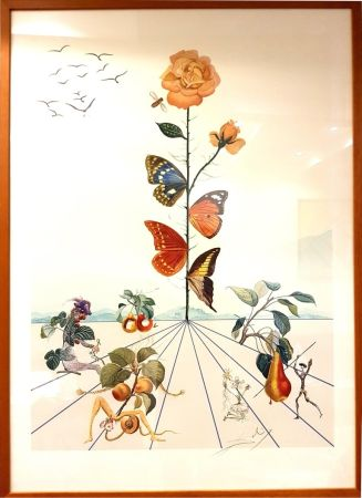 Lithographie Dali - Flordali II