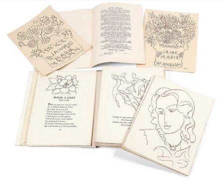 Livre Illustré Matisse - FLORILÈGE DES AMOURS DE RONSARD (Skira 1948). 1/30 avec suite monogrammée au crayon.