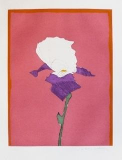 Gravure Scholder - Flower at Giverney 1