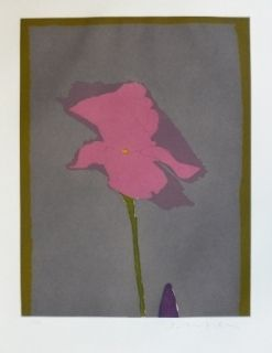 Gravure Scholder - Flower at Giverney 2