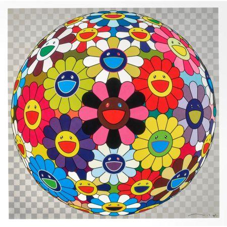 Lithographie Murakami - Flower Ball (Kindergarten Days)