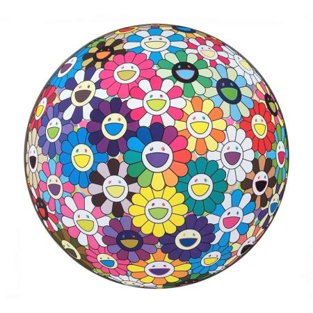 Lithographie Murakami - Flower Ball (Thoughts On Matisse)