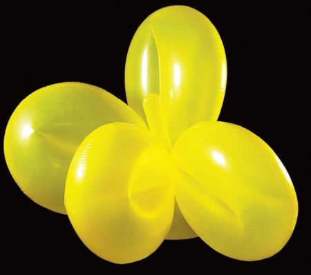 Multiple Koons - Flower Balloon (Yellow)