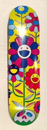 Sérigraphie Murakami - Flower Cluster Skate Deck