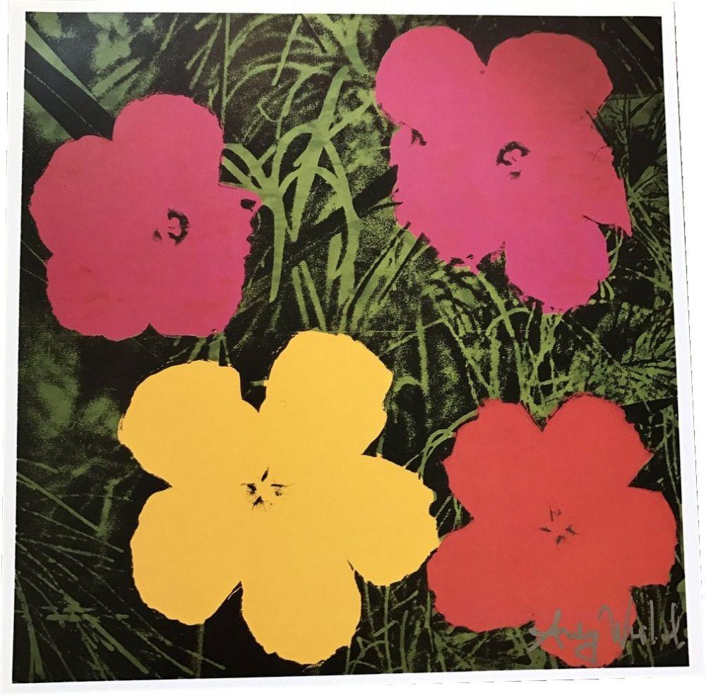 Livre Illustré Warhol - Flowers