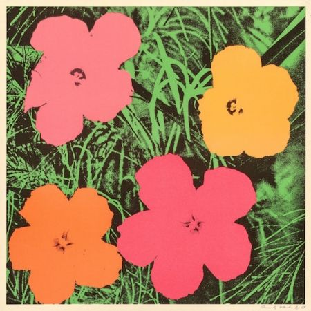 Lithographie Warhol - Flowers