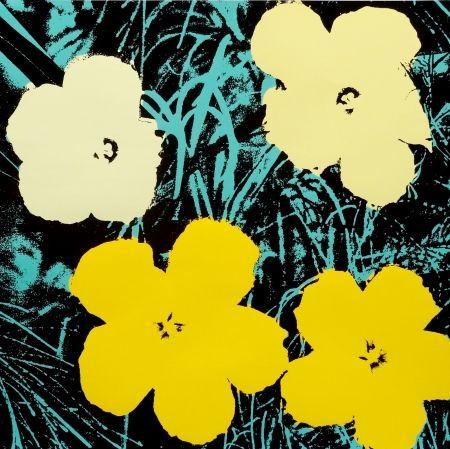 Sérigraphie Warhol - Flowers