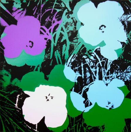 Sérigraphie Warhol (After) - Flowers 11.64