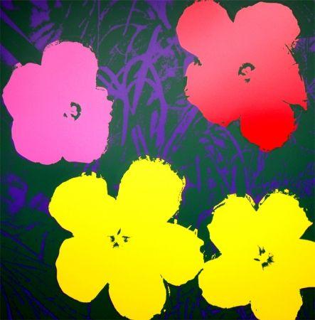 Sérigraphie Warhol (After) - Flowers 11.65