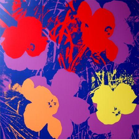 Sérigraphie Warhol (After) - Flowers 11.66