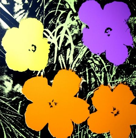 Sérigraphie Warhol (After) - Flowers 11.67