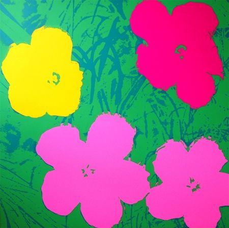Sérigraphie Warhol (After) - Flowers 11.68