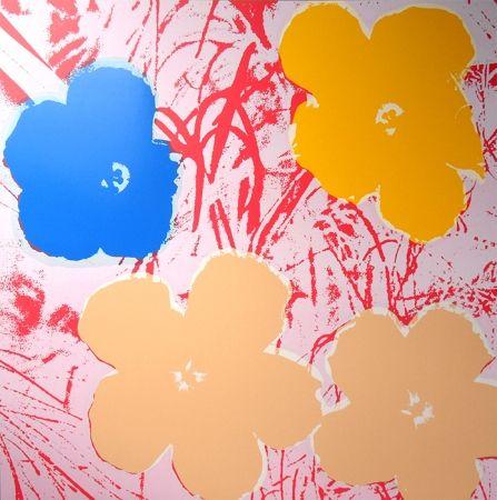 Sérigraphie Warhol (After) - Flowers 11.70