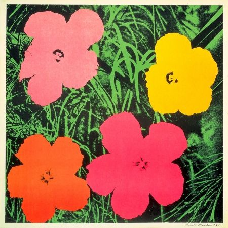Lithographie Warhol - Flowers 1964