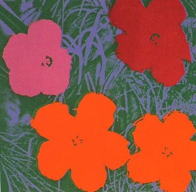 Sérigraphie Warhol (After) - Flowers #65- Sunday B. Morning