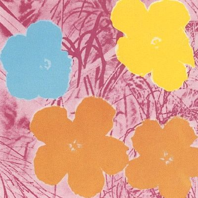 Sérigraphie Warhol (After) - Flowers #70- Sunday B. Morning
