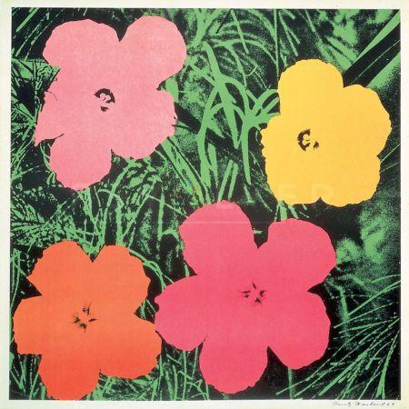 Sérigraphie Warhol - Flowers (FS II.6)