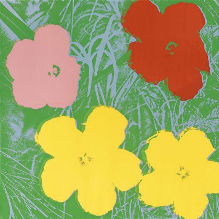 Sérigraphie Warhol - Flowers (FS II.65)