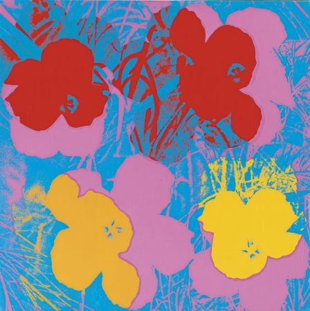Sérigraphie Warhol - Flowers (FS II.66)