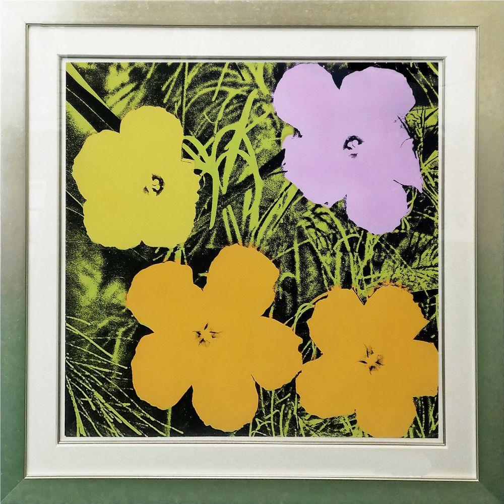 Sérigraphie Warhol - FLOWERS FS II.67