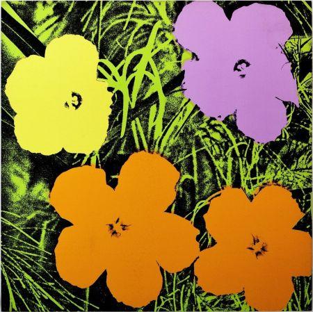 Sérigraphie Warhol - Flowers (FS II.67)