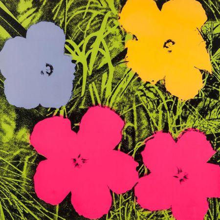 Sérigraphie Warhol - Flowers (FS II.73)