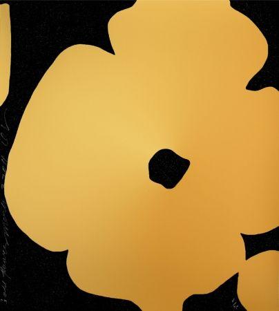 Sérigraphie Sultan - Flowers (GOLD)