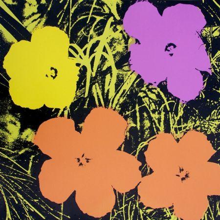 Aucune Technique Warhol (After) - Flowers I
