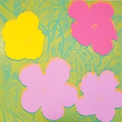 Sérigraphie Warhol - Flowers II.68