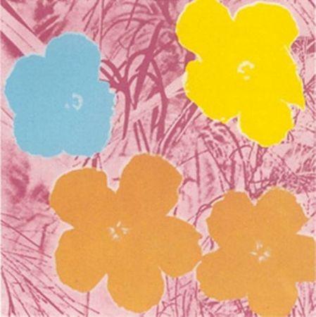 Sérigraphie Warhol - Flowers II.70