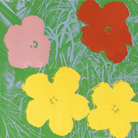 Sérigraphie Warhol - Flowers, Yellow (Fs Ii.65)