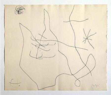 Gravure Miró - Flux De L'aimant