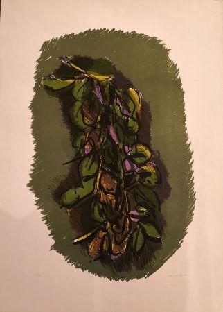 Lithographie Morlotti - Foglie