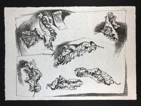 Lithographie Guttuso - Foglie