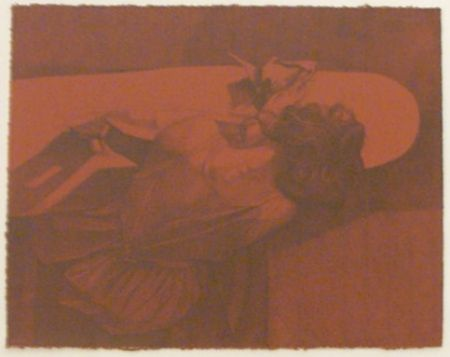 Lithographie Baxter - Folding Linen 4
