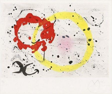 Aquatinte Miró - Fond Marin II (Seabed II), 1963