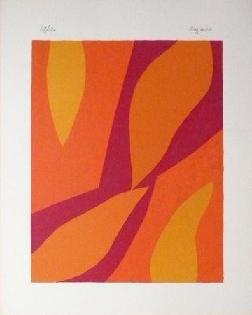 Lithographie Bazaine - Fondation Xème anniversaire
