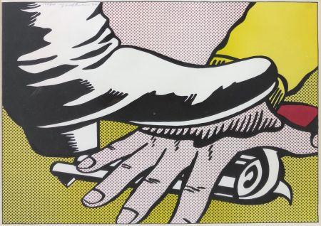 Lithographie Lichtenstein - FOOT AND HAND