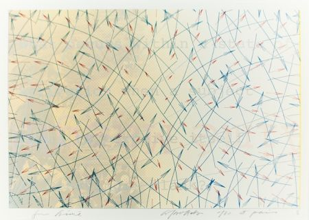 Lithographie Arakawa - For aimé