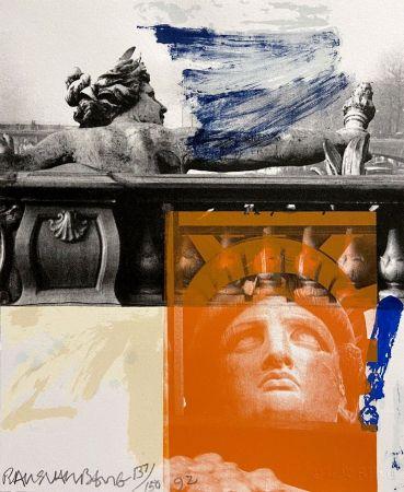 Lithographie Rauschenberg - For Ferraro