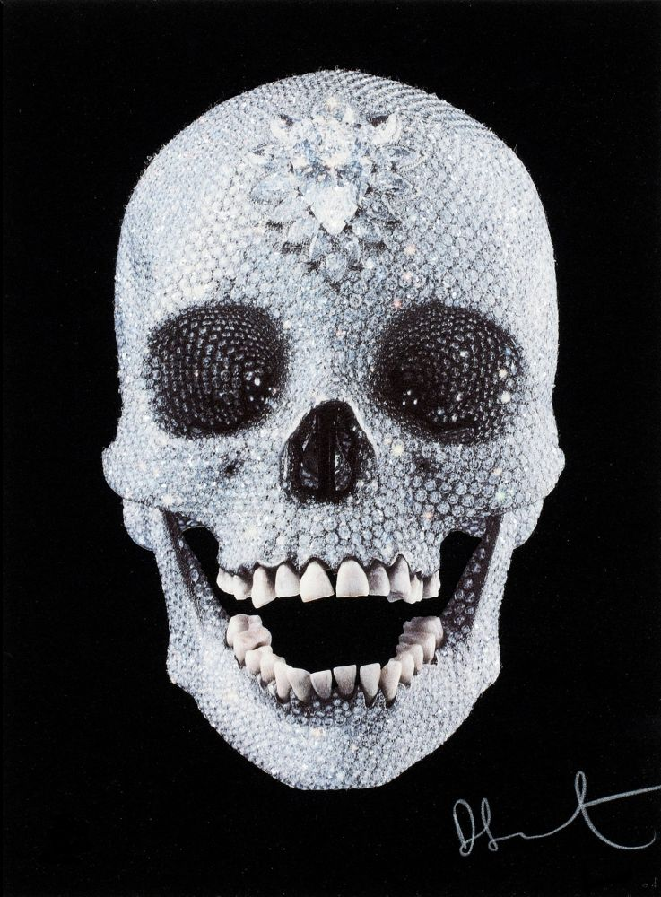 Sérigraphie Hirst - For the Love of God