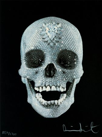 Sérigraphie Hirst - FOR THE LOVE OF GOD,BELIEVE