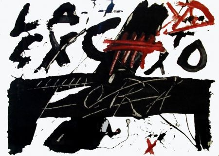 Gravure Tàpies - Fora