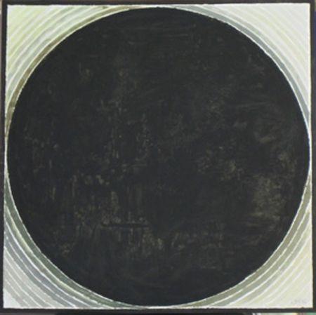 Lithographie Raza - Foret de symbole