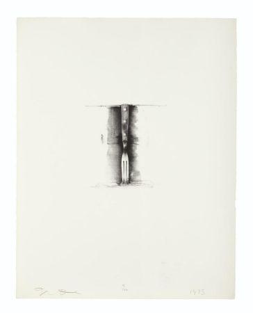 Lithographie Dine - Fork