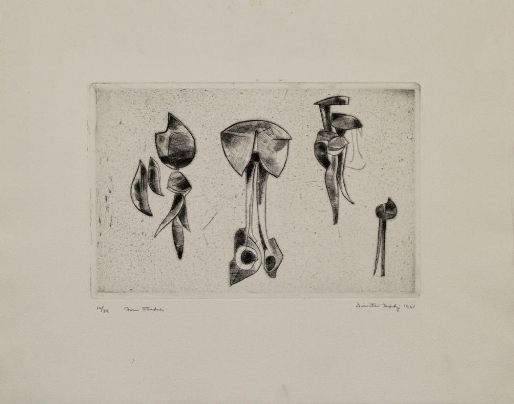 Gravure Hadzi - Form Studies
