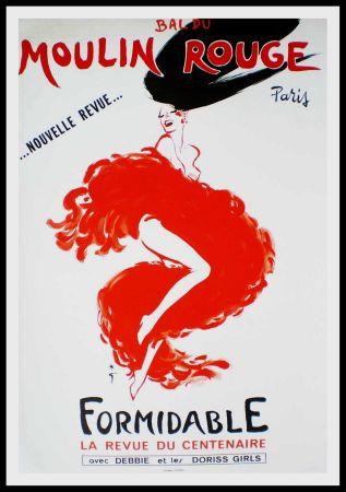 Affiche Gruau - FORMIDABLE