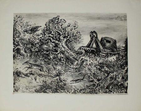 Lithographie Weber - Fortschritt / Progress